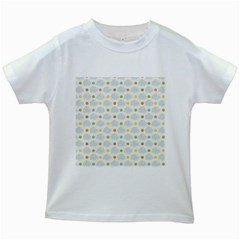 Baby Cloudy Star Cloud Rainbow Blue Sky Kids White T Shirts