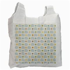 Baby Cloudy Star Cloud Rainbow Blue Sky Recycle Bag (One Side)
