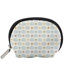 Baby Cloudy Star Cloud Rainbow Blue Sky Accessory Pouches (small)