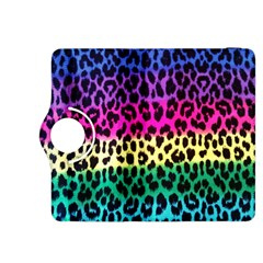 Cheetah Neon Rainbow Animal Kindle Fire HDX 8.9  Flip 360 Case