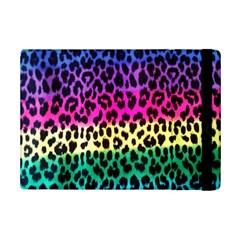 Cheetah Neon Rainbow Animal iPad Mini 2 Flip Cases