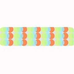 Circles Orange Blue Green Yellow Large Bar Mats