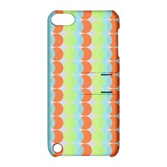 Circles Orange Blue Green Yellow Apple Ipod Touch 5 Hardshell Case With Stand