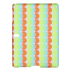 Circles Orange Blue Green Yellow Samsung Galaxy Tab S (10.5 ) Hardshell Case