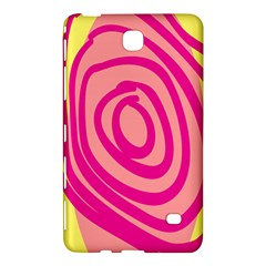 Doodle Shapes Large Line Circle Pink Red Yellow Samsung Galaxy Tab 4 (8 ) Hardshell Case