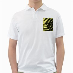 Doodle Shapes Large Scratched Included Golf Shirts