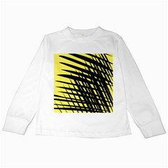 Doodle Shapes Large Scratched Included Kids Long Sleeve T Shirts