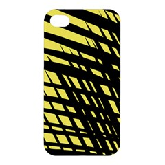 Doodle Shapes Large Scratched Included Apple iPhone 4/4S Hardshell Case