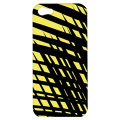 Doodle Shapes Large Scratched Included Apple Iphone 5 Hardshell Case