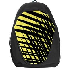 Doodle Shapes Large Scratched Included Backpack Bag