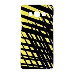 Doodle Shapes Large Scratched Included Samsung Galaxy A5 Hardshell Case