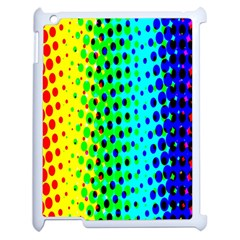 Comic Strip Dots Circle Rainbow Apple Ipad 2 Case (white)