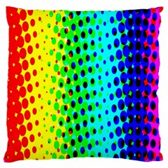 Comic Strip Dots Circle Rainbow Large Cushion Case (one Side)