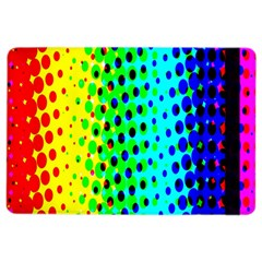 Comic Strip Dots Circle Rainbow iPad Air 2 Flip