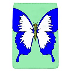 Draw Butterfly Green Blue White Fly Animals Flap Covers (L)