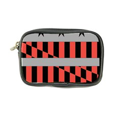 Falg Sign Star Line Black Red Coin Purse