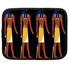 Egyptian Mummy Guard Treasure Monster Netbook Case (large)