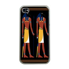 Egyptian Mummy Guard Treasure Monster Apple iPhone 4 Case (Clear)