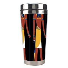 Egyptian Mummy Guard Treasure Monster Stainless Steel Travel Tumblers