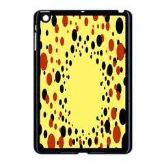 Gradients Dalmations Black Orange Yellow Apple iPad Mini Case (Black)
