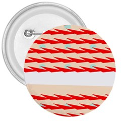 Chevron Wave Triangle Red White Circle Blue 3  Buttons