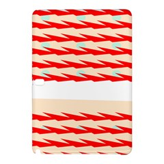 Chevron Wave Triangle Red White Circle Blue Samsung Galaxy Tab Pro 12.2 Hardshell Case