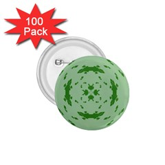 Green Hole 1.75  Buttons (100 pack)