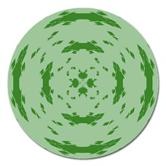 Green Hole Magnet 5  (Round)