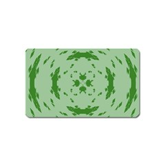 Green Hole Magnet (name Card)