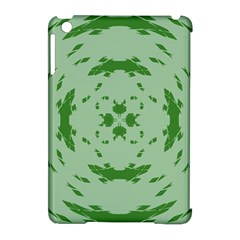 Green Hole Apple iPad Mini Hardshell Case (Compatible with Smart Cover)
