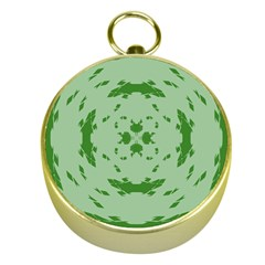 Green Hole Gold Compasses
