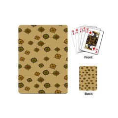 Compass Circle Brown Playing Cards (Mini)