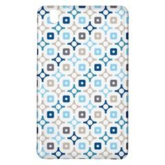 Plaid Line Chevron Wave Blue Grey Circle Samsung Galaxy Tab Pro 8 4 Hardshell Case