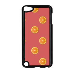 Oranges Lime Fruit Red Circle Apple iPod Touch 5 Case (Black)