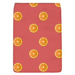 Oranges Lime Fruit Red Circle Flap Covers (S)
