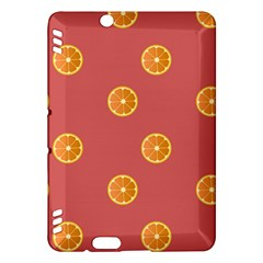 Oranges Lime Fruit Red Circle Kindle Fire HDX Hardshell Case