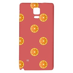 Oranges Lime Fruit Red Circle Galaxy Note 4 Back Case