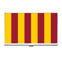 Red Yellow Flag Business Card Holders