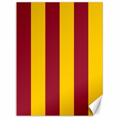 Red Yellow Flag Canvas 36  x 48