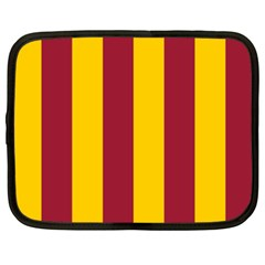 Red Yellow Flag Netbook Case (XXL)