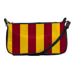 Red Yellow Flag Shoulder Clutch Bags