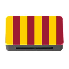 Red Yellow Flag Memory Card Reader with CF