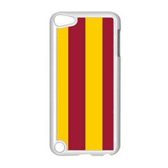 Red Yellow Flag Apple iPod Touch 5 Case (White)