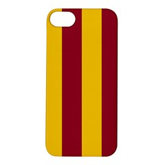 Red Yellow Flag Apple iPhone 5S/ SE Hardshell Case