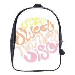 Sugar Sweet Rainbow School Bags (XL)