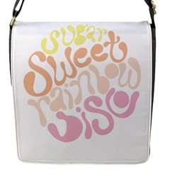 Sugar Sweet Rainbow Flap Messenger Bag (s)
