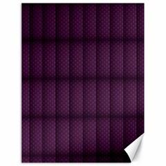 Plaid Purple Canvas 18  x 24