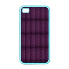 Plaid Purple Apple iPhone 4 Case (Color)