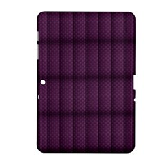 Plaid Purple Samsung Galaxy Tab 2 (10.1 ) P5100 Hardshell Case