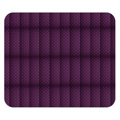 Plaid Purple Double Sided Flano Blanket (Small)